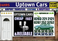 UPTOWN CARS (0207 237 5555)